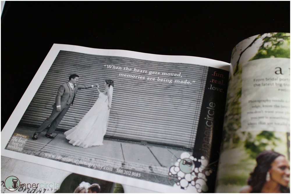 PUBLISHED! TheKnot Michigan Fall/Winter 2014
